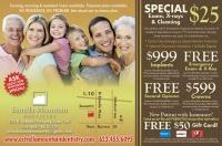 Estrella Mountain Dentistry half page ad for Life In Estrella magazine, courtesy of Lion Tree Communications