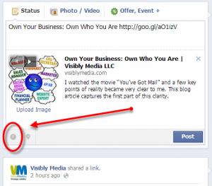 Facebook Fan Page: schedule status updates or posts, start here