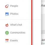 GooglePlus profile settings
