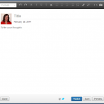LinkedIn Invitation To Publish Step 3
