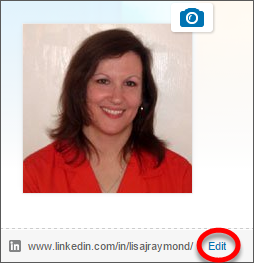 Make LinkedIn profile private, step 2