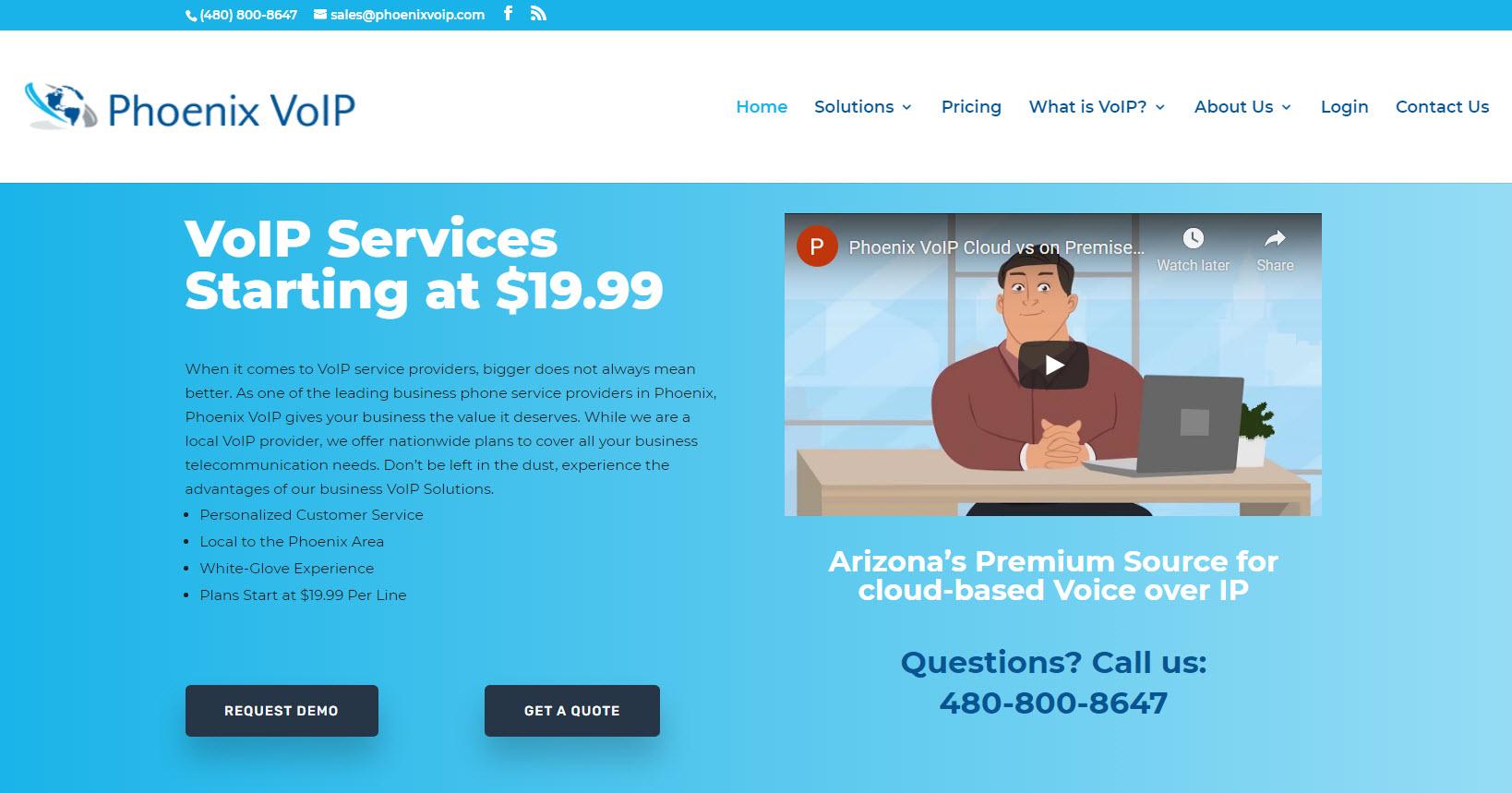 Phoenix VoIP, voice over internet protocol