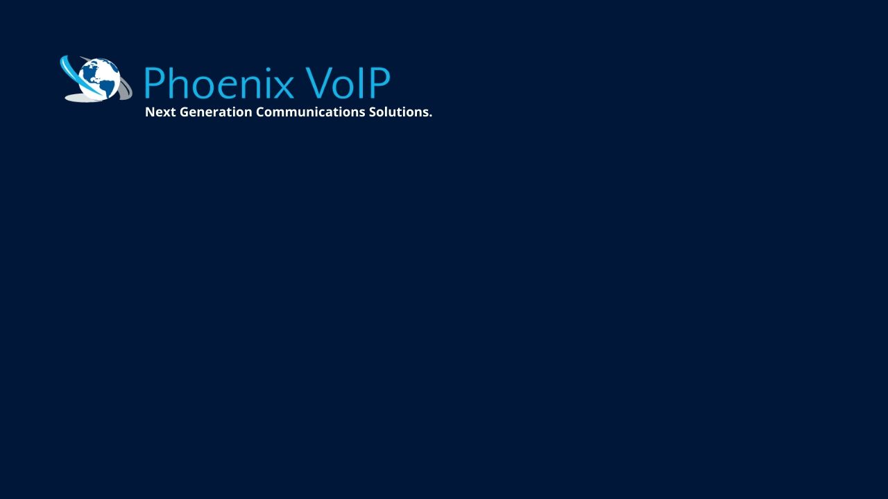 Phx VoIP Next Generation Communications Solutions.