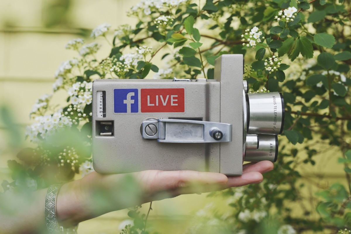 Visibly Media Marketing, Facebook Live