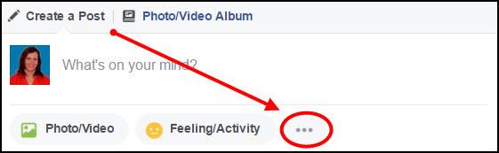 Visibly Media   Facebook Live   click three dots