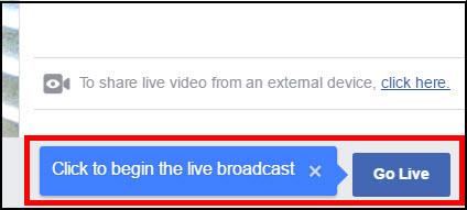 Visibly Media   Facebook Live   go live video broadcast