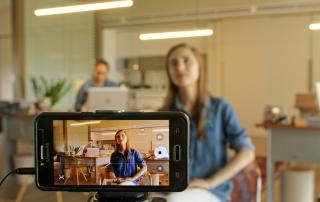 Visibly Media, recording video