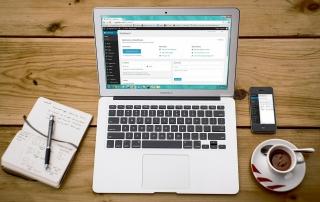Visibly Media wordpress website design