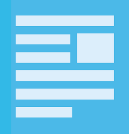 blogging layout